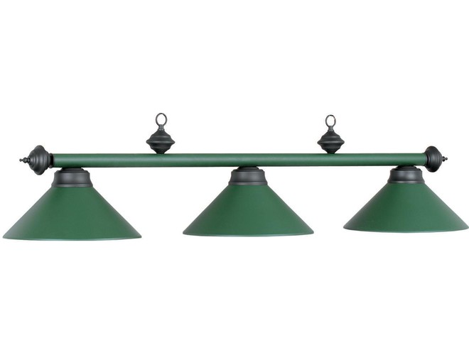 Attractive Ram Gameroom Products Matte Finish Metal Pool Table Lights. Matte Green