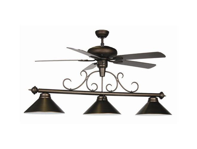 Ram Room Products Ceiling Fan Pool Table Light