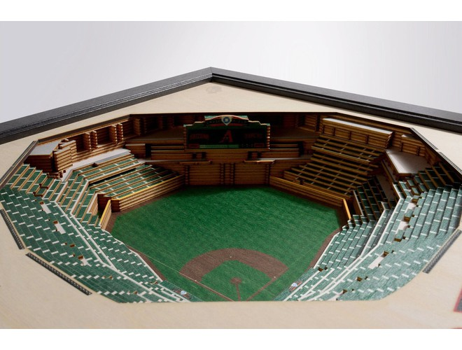 You The Fan Mlb Stadium View 25 Layer 3d Wall Art