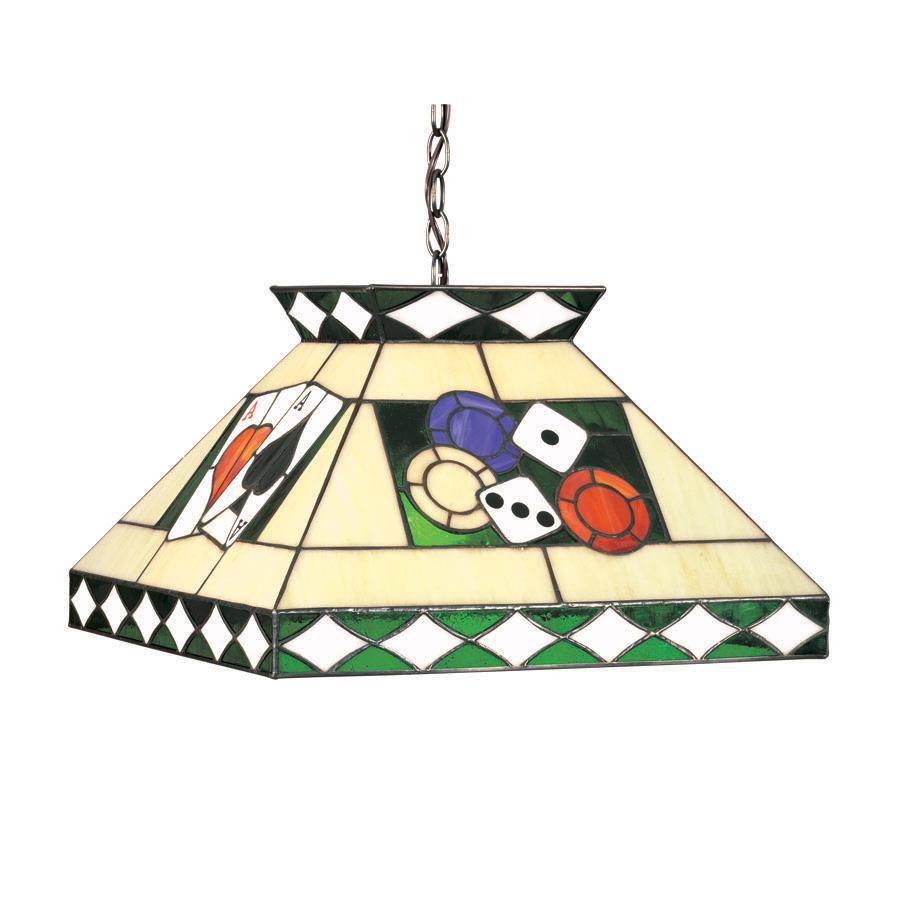 Ram Gameroom Products Poker Theme Pendant Light