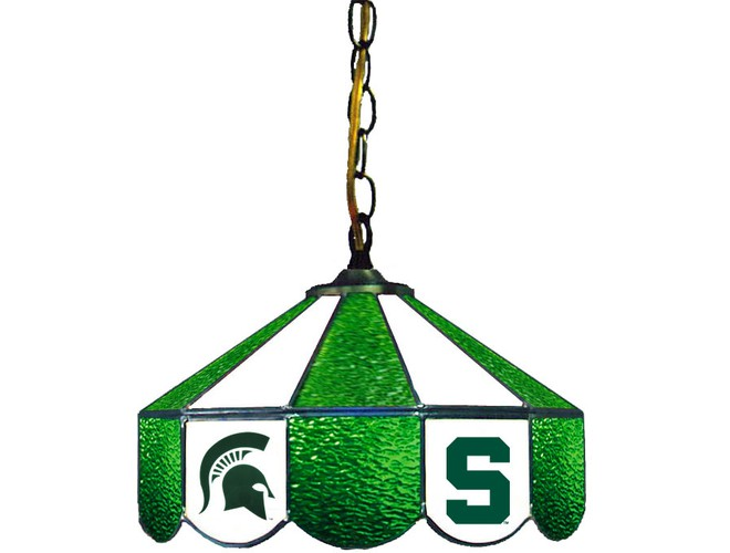Wave7 Ncaa Officially Licensed Stained Glass Pendant Light