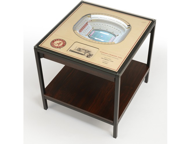 You The Fan 25 Layer Ncaa Stadium View Led End Table
