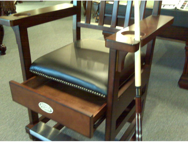 spencer marston deluxe spectator chair billiards