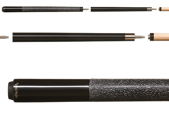 Action Value VAL13 Dark Blue Metallic Stained Pool//Billiards Cue Stick